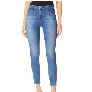 J Brand Alana High Rise Crop Jeans sz 27